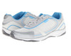 Vionic Women's Zen Walker Sneaker White/Blue