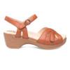Dankso Women's Season Sandal Camel Full Grain