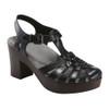 Earth Women's Oak Cerris Sandal Black Leather