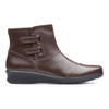 Clarks Women's Hope Cody Ankle Boot Brown Leather