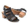 Comfortiva Women's Alexis Sandal Black