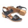 Comfortiva Women's Baja Sandal Black