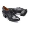 Comfortiva Women's Angelique Lace Up Heel Black