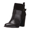 Nine West Women's Quinah Ankle Boot Dark Brown