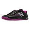 New Balance Women's WC1006WR Tennis Shoe Black/Pink Zing