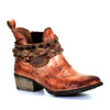 Circle G By Corral Women's LD Harness & Woven Ankle Boot Rose