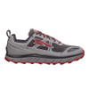 Altra Men's Lone Peak 3.0 Neoshell Trail Runner Gray/Red