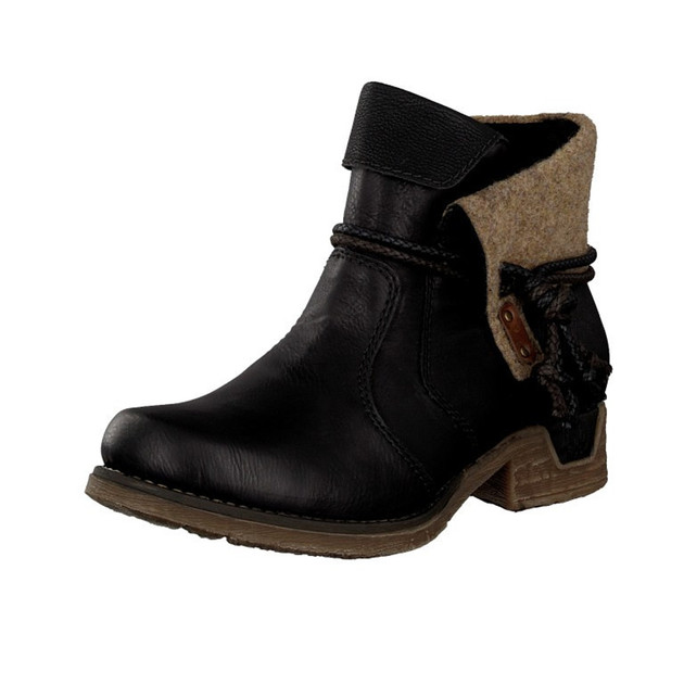 Competitive Price Rieker Ankle Boots Wine Eagle 74798 Peggy