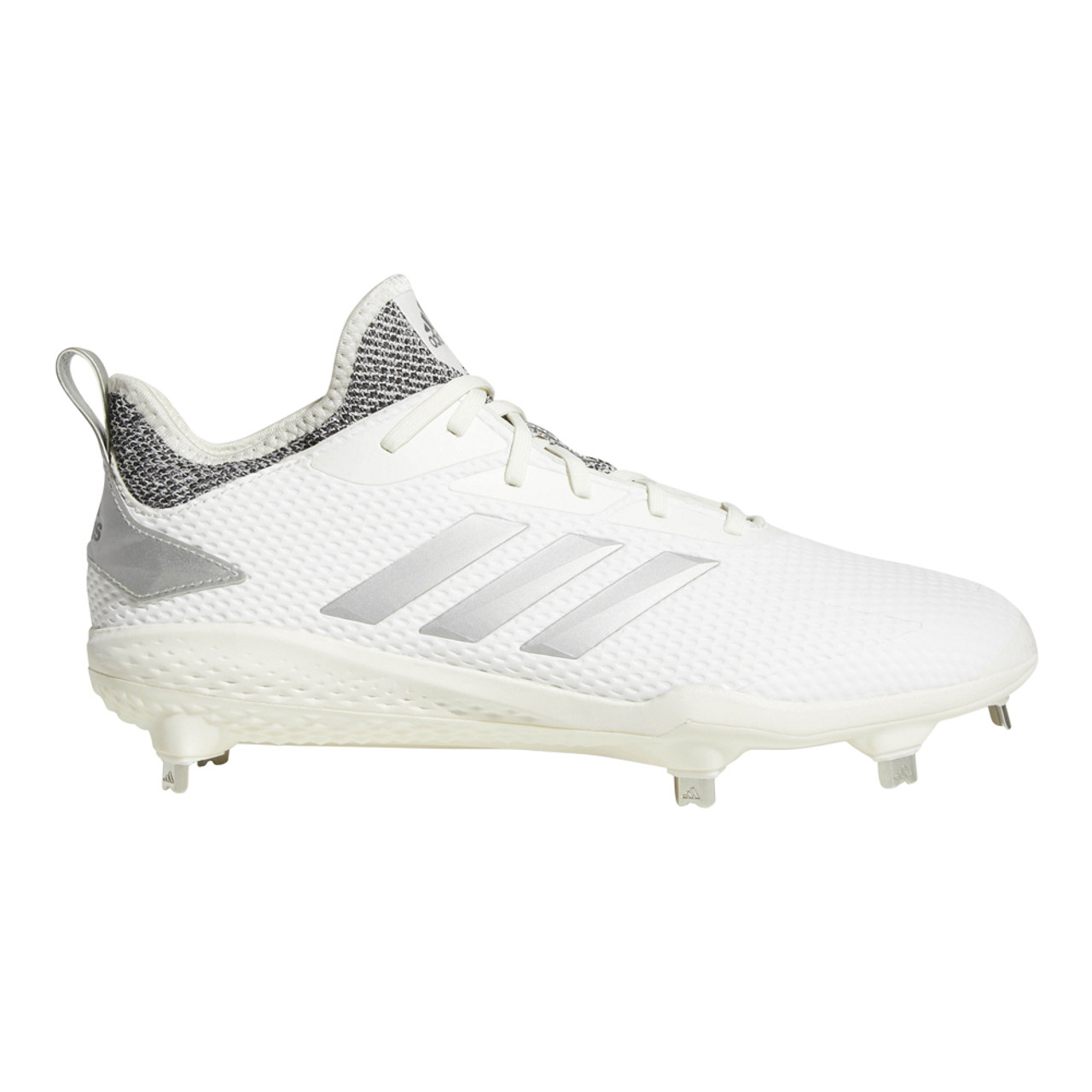 online retailer dcaae 4a6bf Adidas Mens Adizero Afterburner V Baseball Cleat WhiteGrey - Shop now   Shoolu.