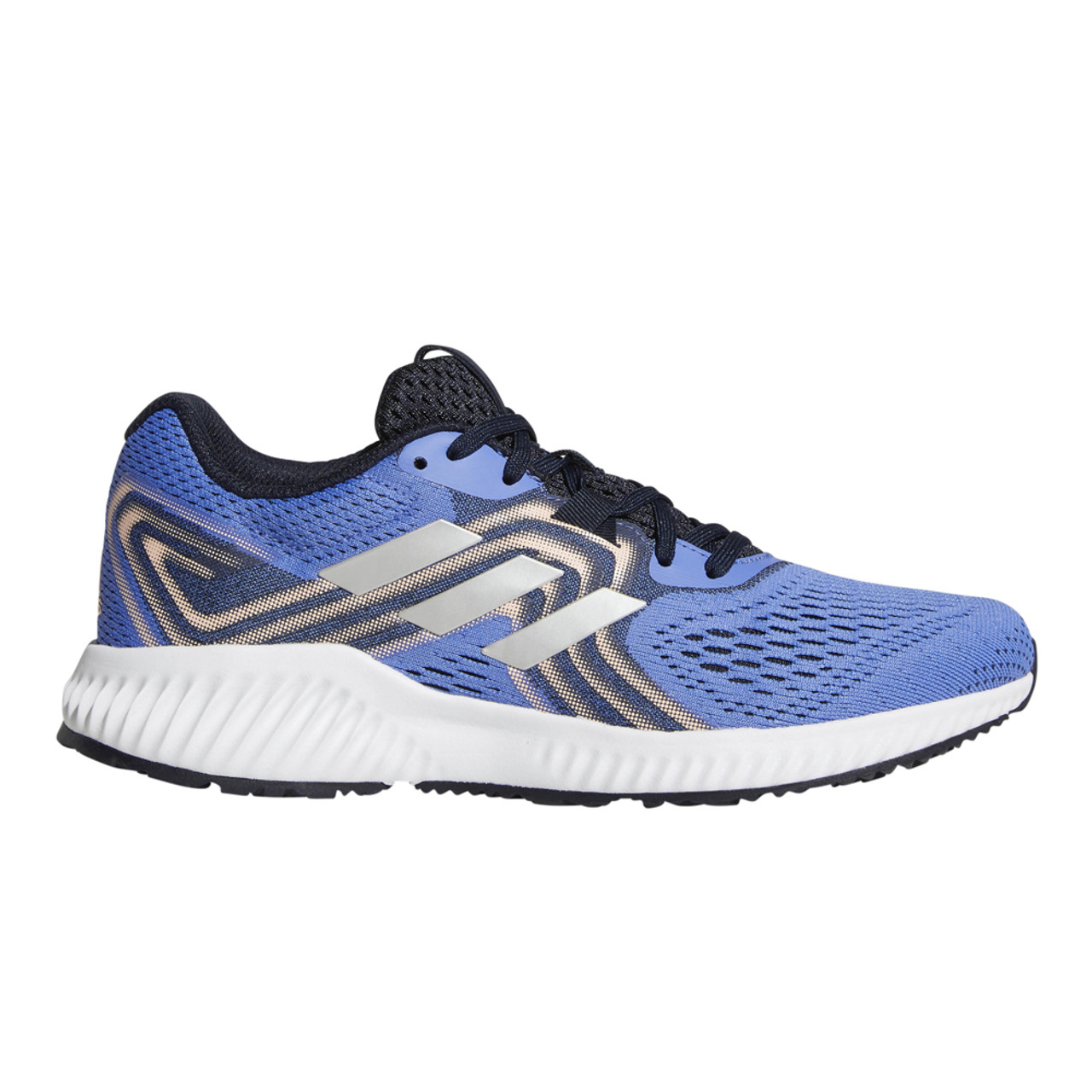san francisco 123b3 1181f Adidas Womens Aerobounce 2 Running Shoe LilacOrange - Shop now   Shoolu.com