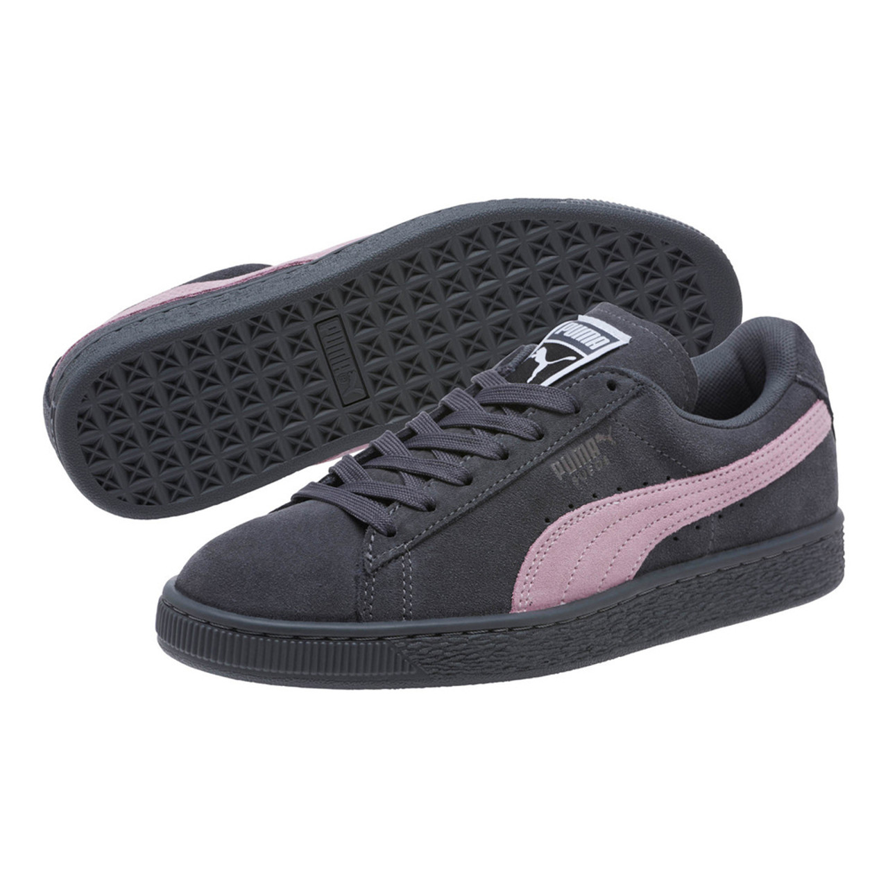 Puma Women s Suede Classic Sneaker Irongate Winsome Orchid - Shop now    Shoolu.com 8bed126701a9