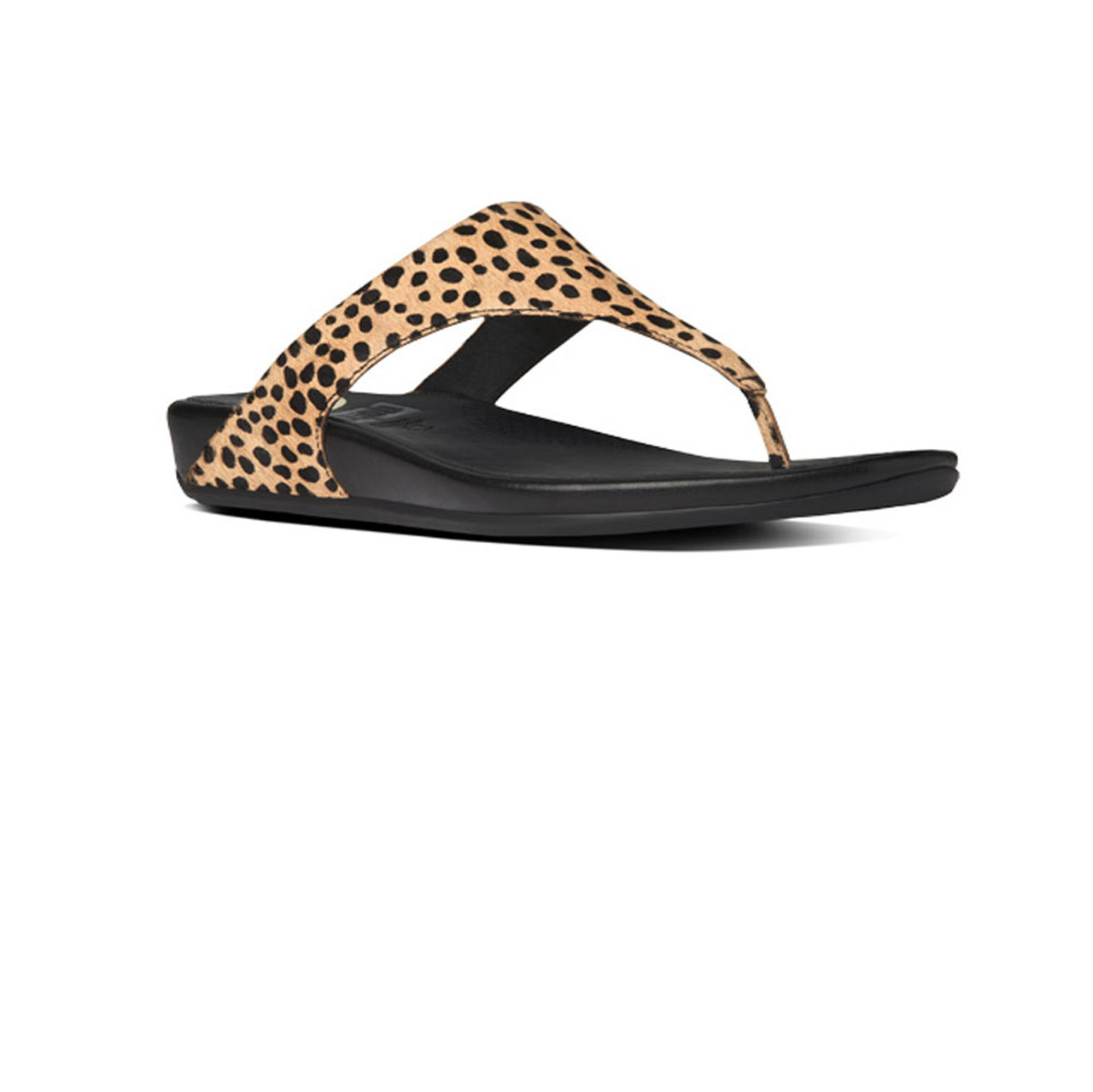 0ef5c30a518d1 Fitflop Women s Banda Thong Leopard - Shop now   Shoolu.com