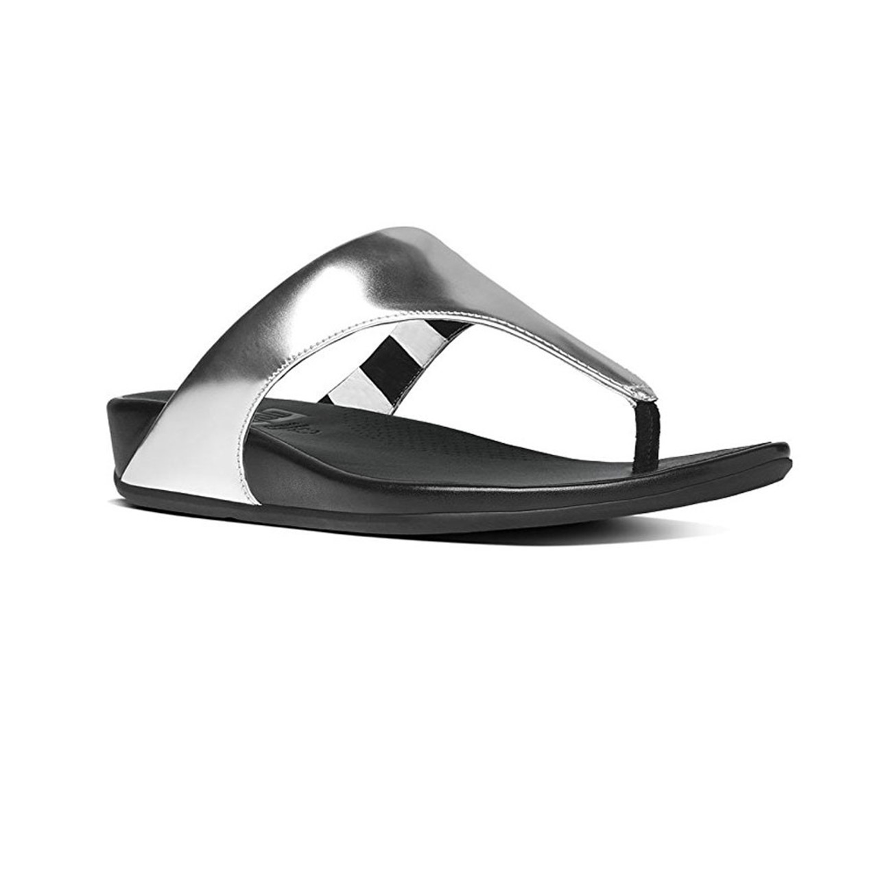 fa0aeea5606ba Fitflop Women s Banda Thong Silver - Shop now   Shoolu.com