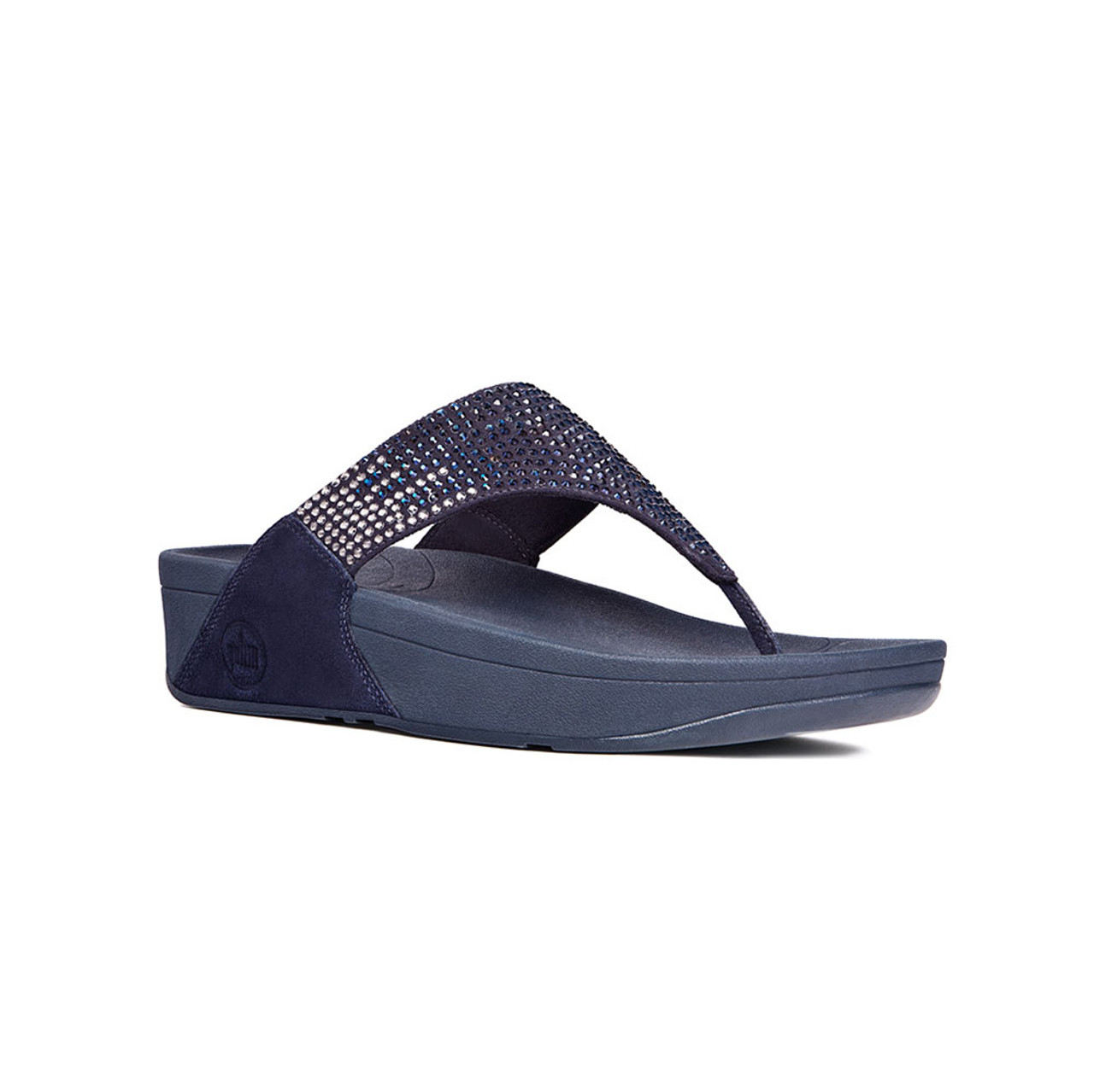 0db297ad3b2cc6 Fitflop Women s Flare Thong Supernavy - Shop now   Shoolu.com
