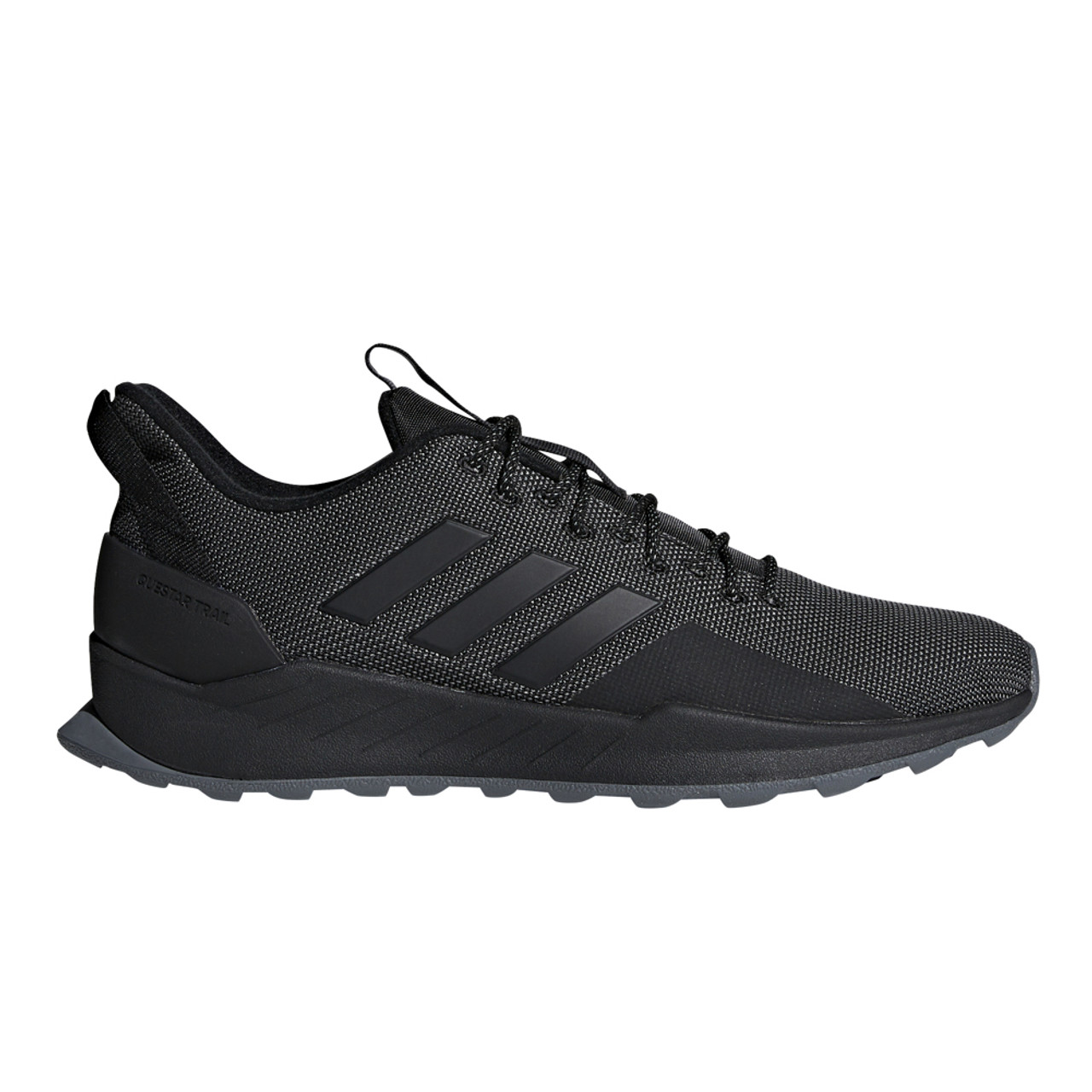 2d8f2112b6a Adidas Men s Questar Trail Running Shoe Black Grey - Shop now   Shoolu.com
