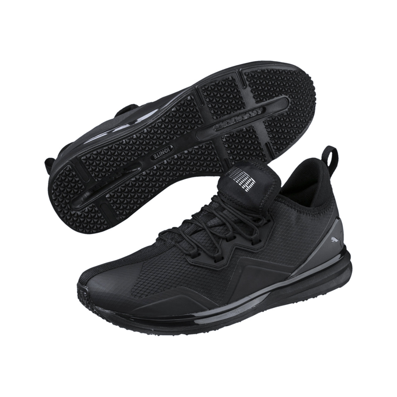 Puma Men s Ignite Limitless Initiate Running Shoe Black - Shop now    Shoolu.com 4a11c62b1