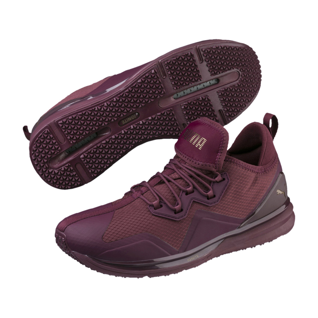 Puma Men s Ignite Limitless Initiate Running Shoe Purple - Shop now    Shoolu.com 03d618a45