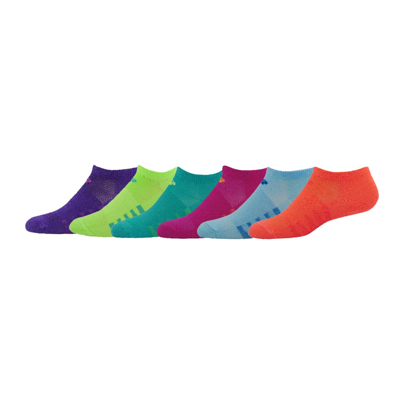 3b4a0effd8587 New Balance Youth Unisex 6 Pack No Show Socks Assortment - Shop now @  Shoolu.
