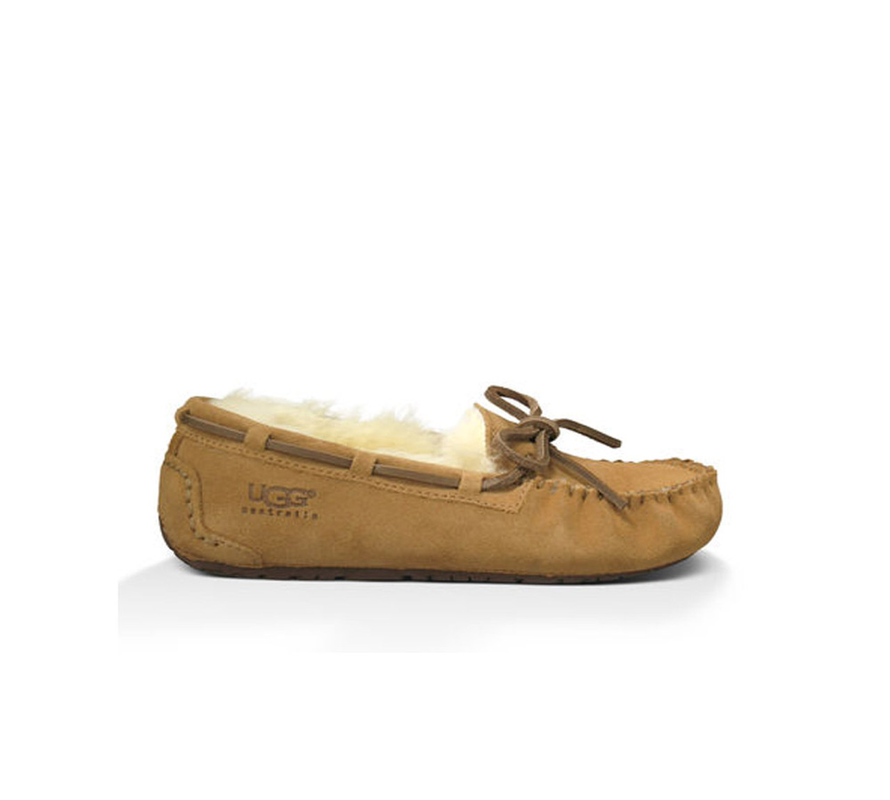 8e5bc494e3c UGG Girls Kids Dakota Slipper Chestnut - Shop now   Shoolu.com