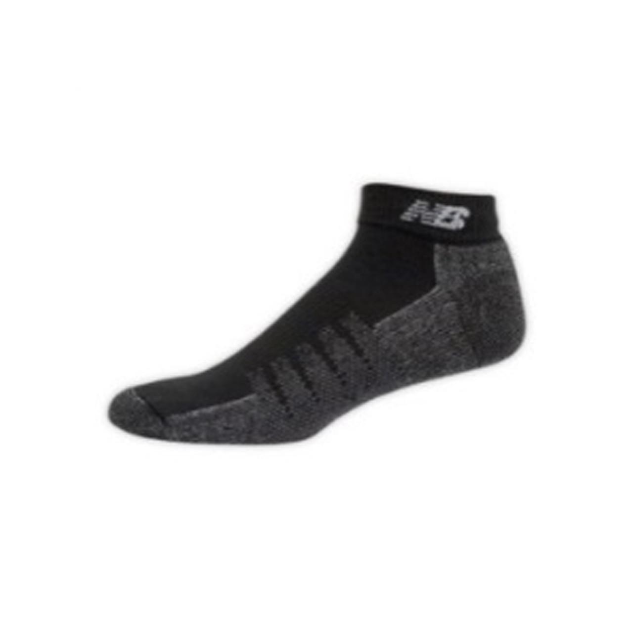 e4d5b5d97ceed New Balance Men's 2 Pack Technical Elite Coolmax Low Cut Socks Black - Shop  now @