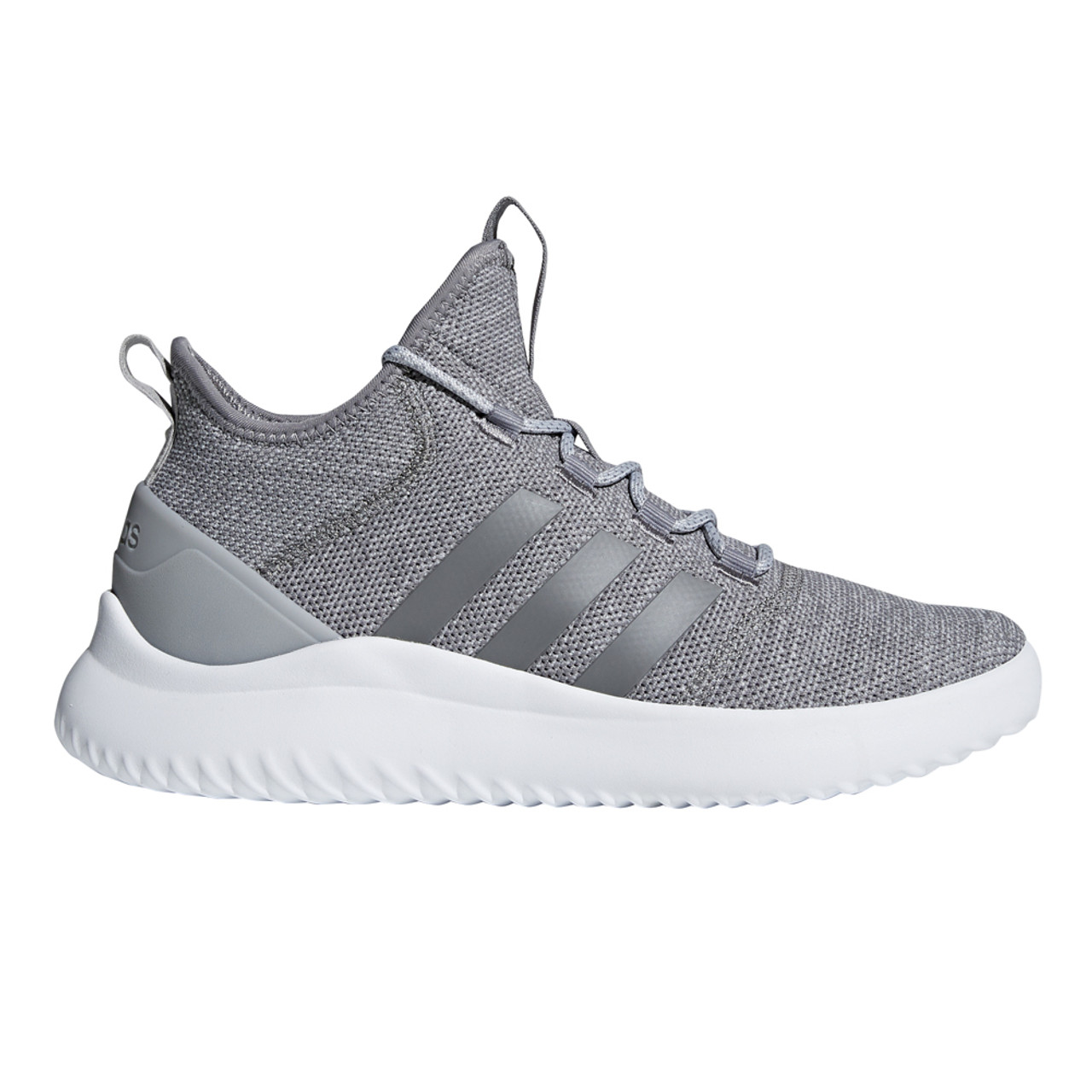 brand new 2b8f0 71825 Adidas Men s Cloudfoam Ultimate Bball Shoe Grey White - Shop now    Shoolu.com