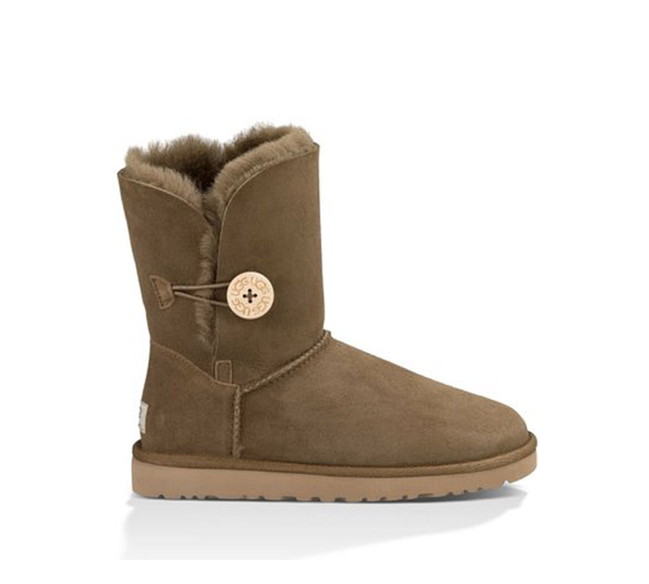 523e90bbd2c UGG Women's Bailey Button Boot Dry Leaf