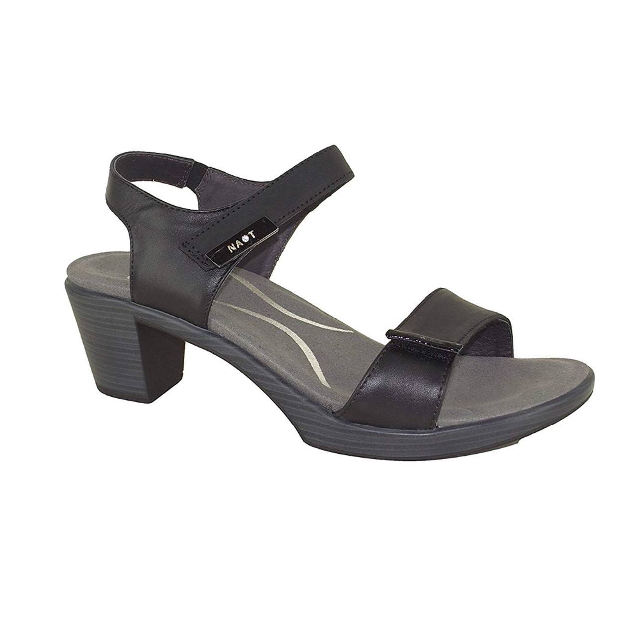 70b1bf9123f0 Naot Women s Intact Sandal Oily Coal Black Raven - Shop now   Shoolu.com