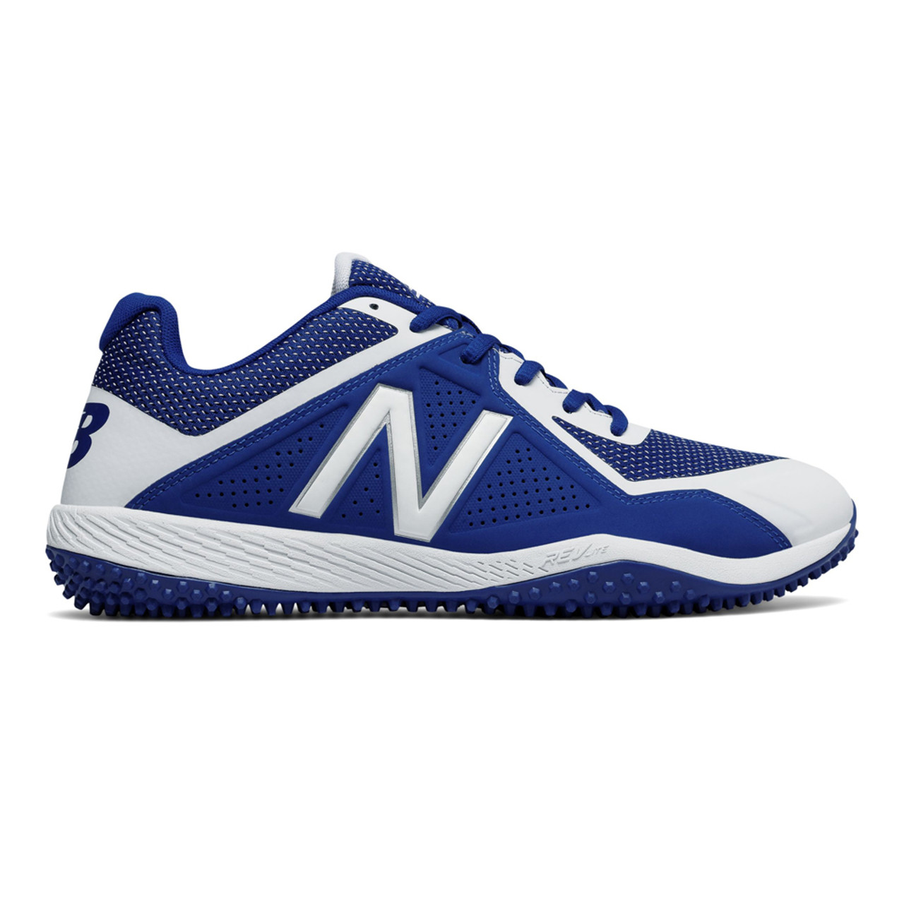 2c4d63fc66922 New Balance Men's T4040TB4 Baseball Turf Shoes Royal Blue/White - Shop now  @ Shoolu