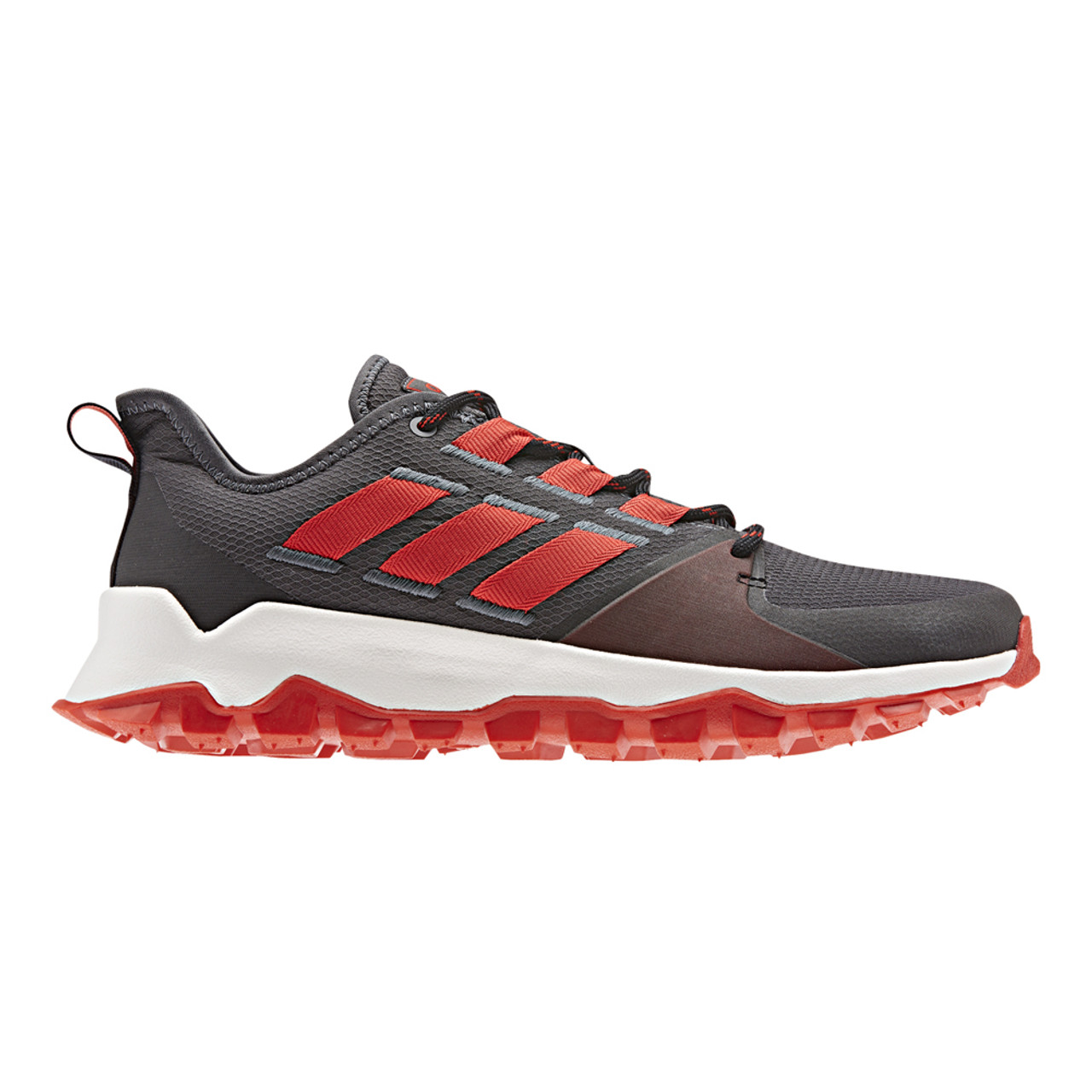 3214bf50b798 Adidas Men s Kanadia Trail Running Shoe Grey Red - Shop now   Shoolu.com