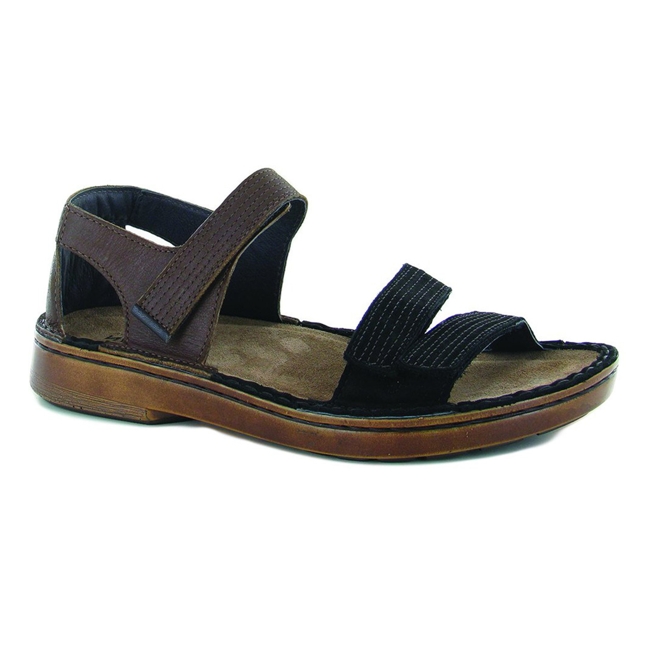 1af3df928ac0 Naot Women s Amarante Sandal Toffee Black - Shop now   Shoolu.com