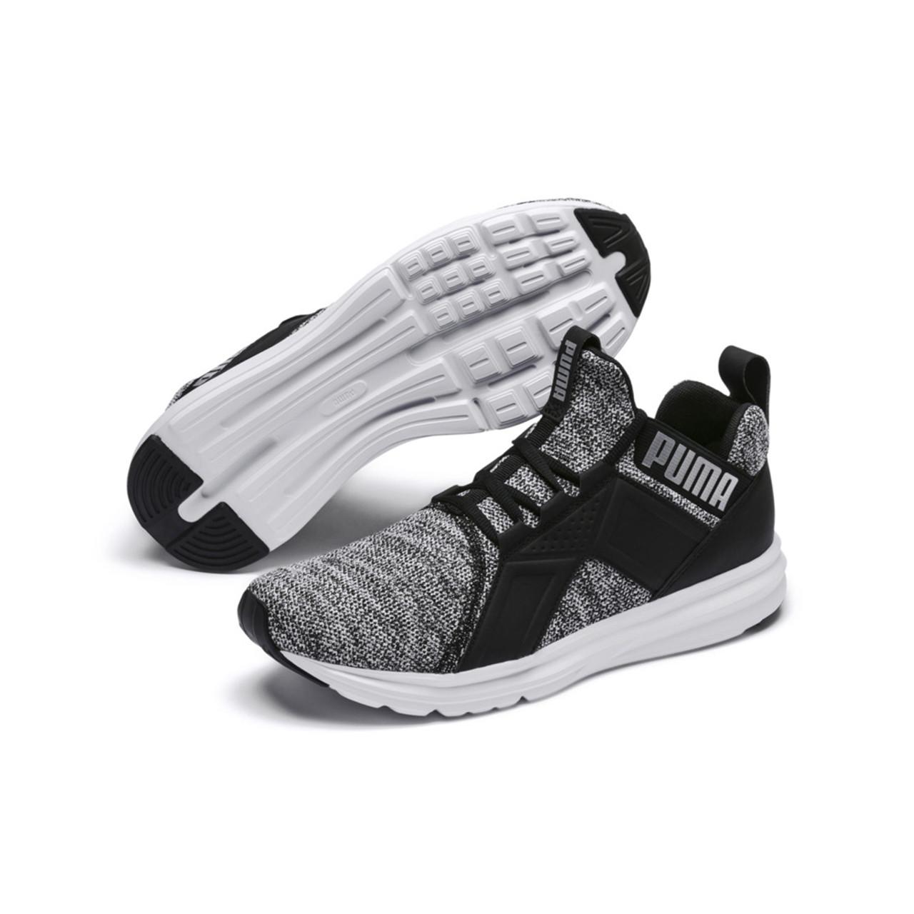 Puma Men's Enzo Knit NM Sneaker - Black
