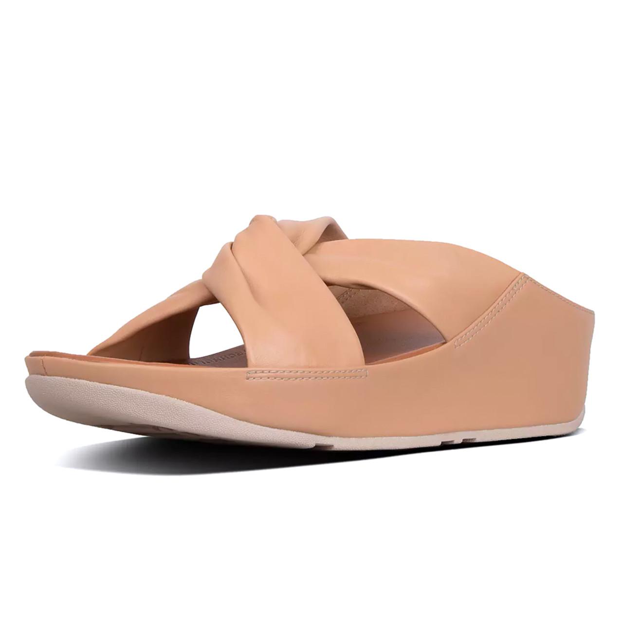 a9095f224 Fitflop Women s Twiss Slide Sandals Blush - Shop now   Shoolu.com