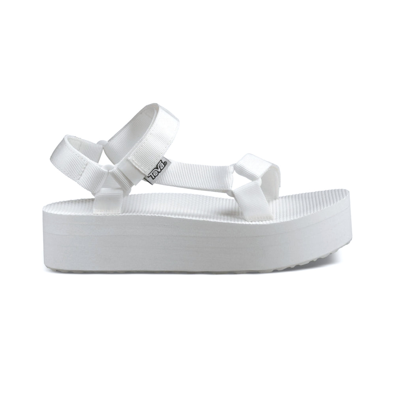 cbc5c3a14d7e Teva Women s Flatform Universal Platform Sandal Bright White - Shop now    Shoolu.com