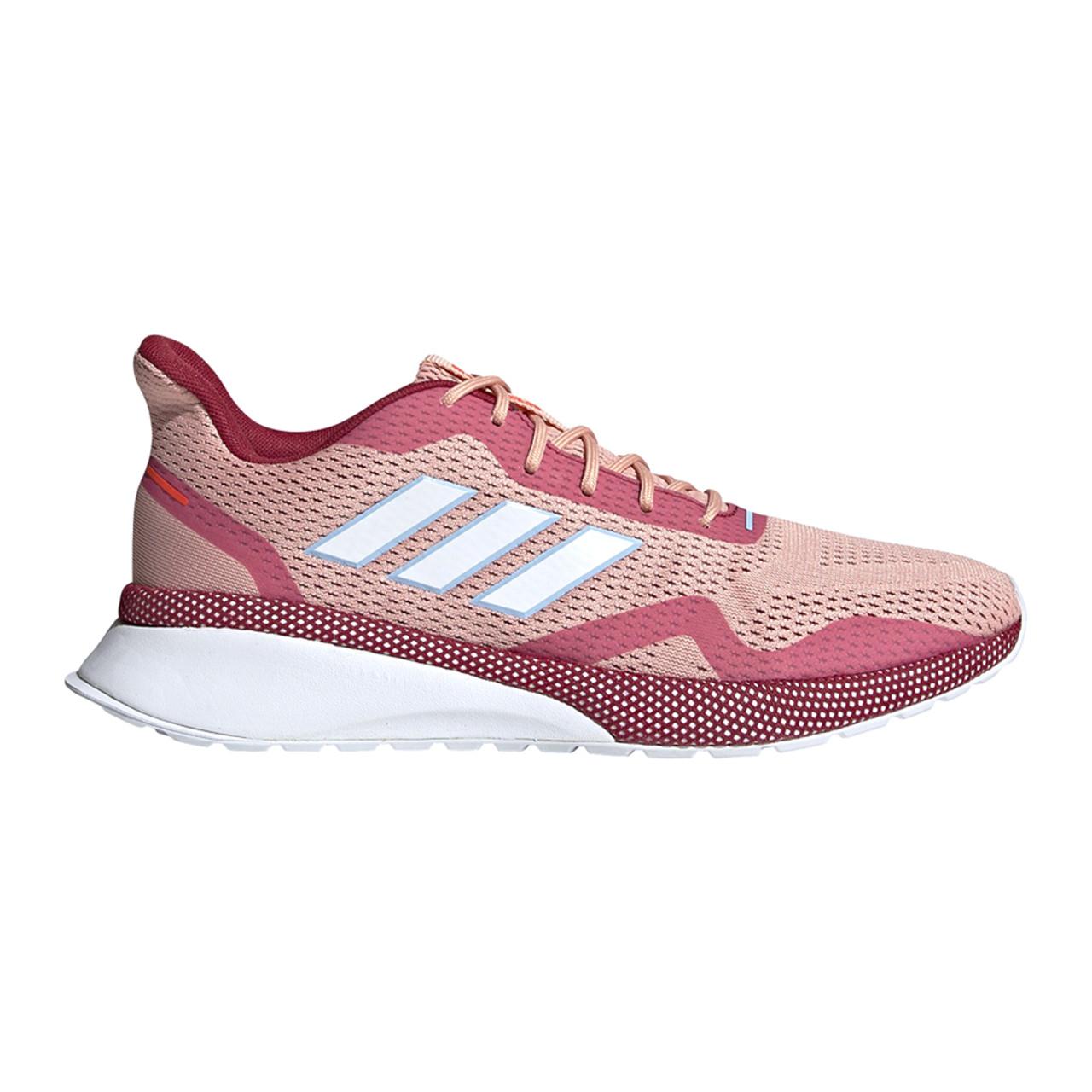 Adidas Women's Nova Run X Running Shoe PinkMaroon