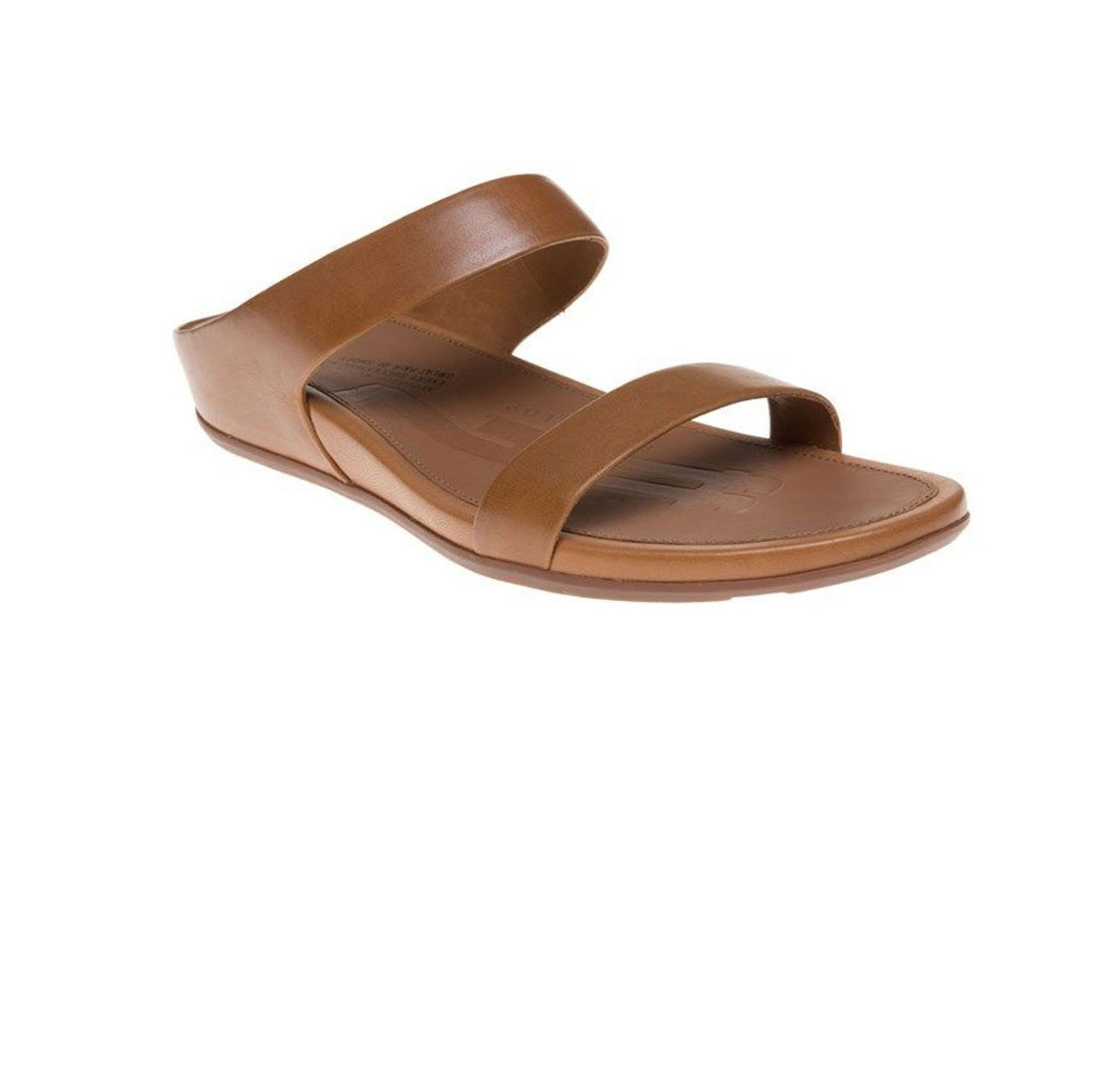 45c75f9da787f Fitflop Women s Banda Slide Tan - Shop now   Shoolu.com