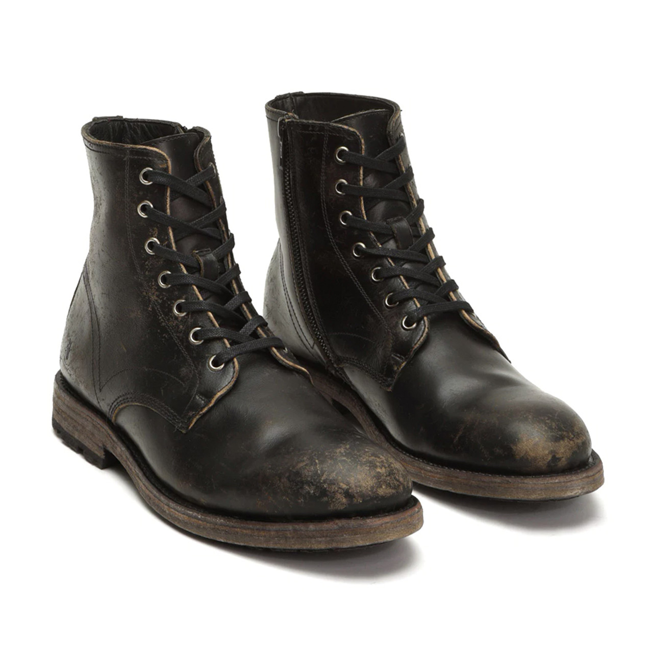 FRYE Men's Bowery Lace Up Boot - Black