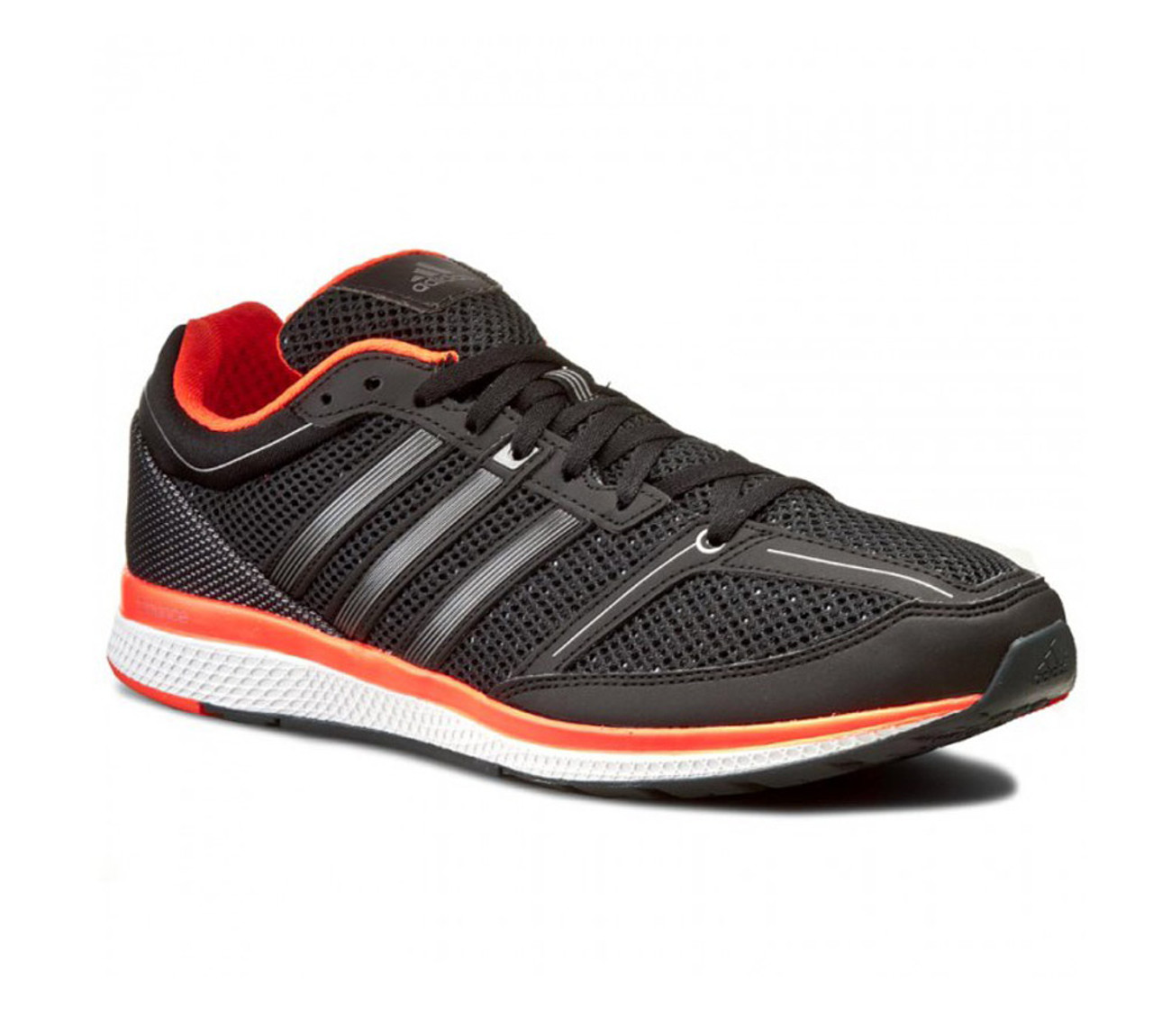1c91f9e95 Adidas Men s Mana RC Bounce Running Shoe Black Solar Red - Shop now   Shoolu