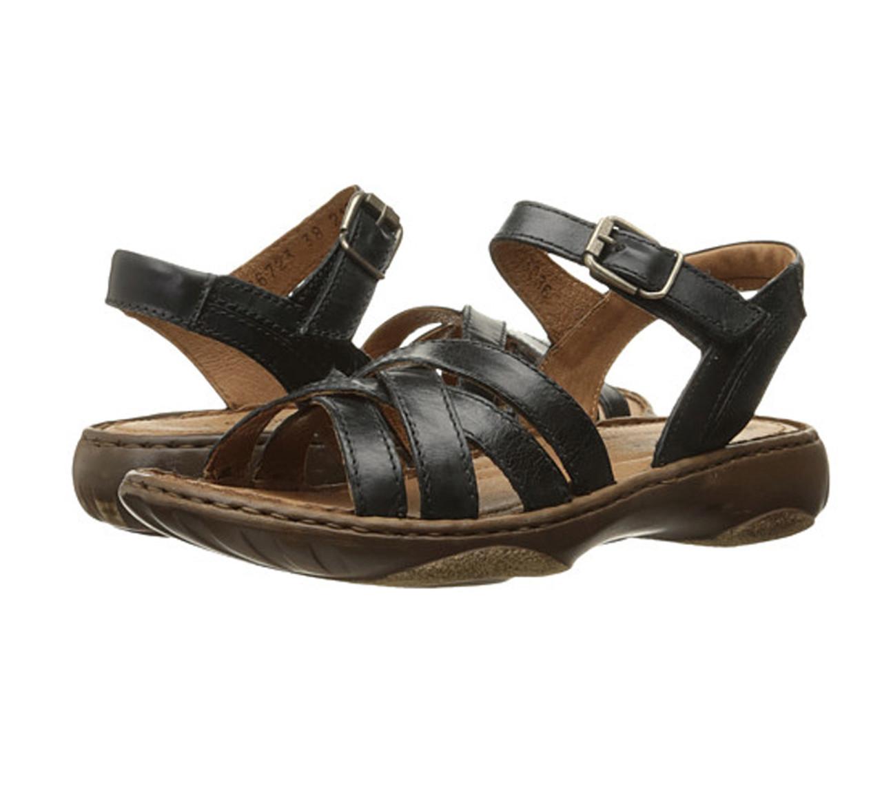 UK-Shop heißester Verkauf zuverlässige Qualität Josef Seibel Women's Debra 23 Sandal Black