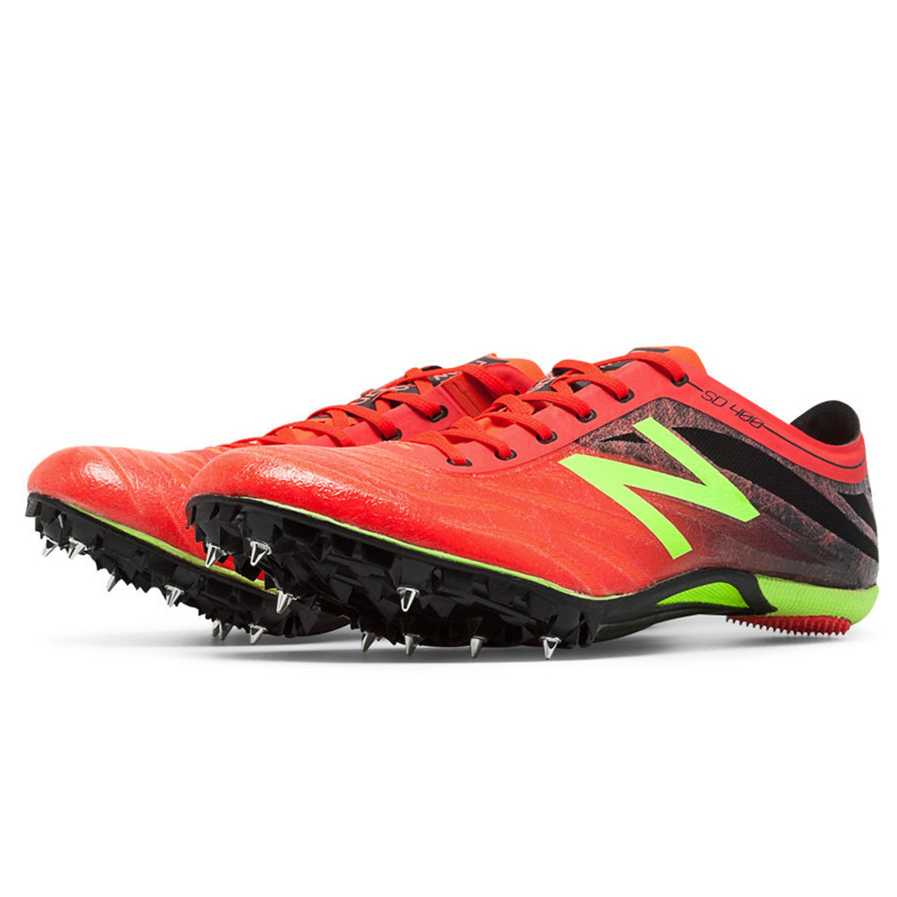 d435ba9342ee5 New Balance Men's MSD400R3 SD400v3 Spike Track Spikes Flame/Black/Toxic -  Shop now