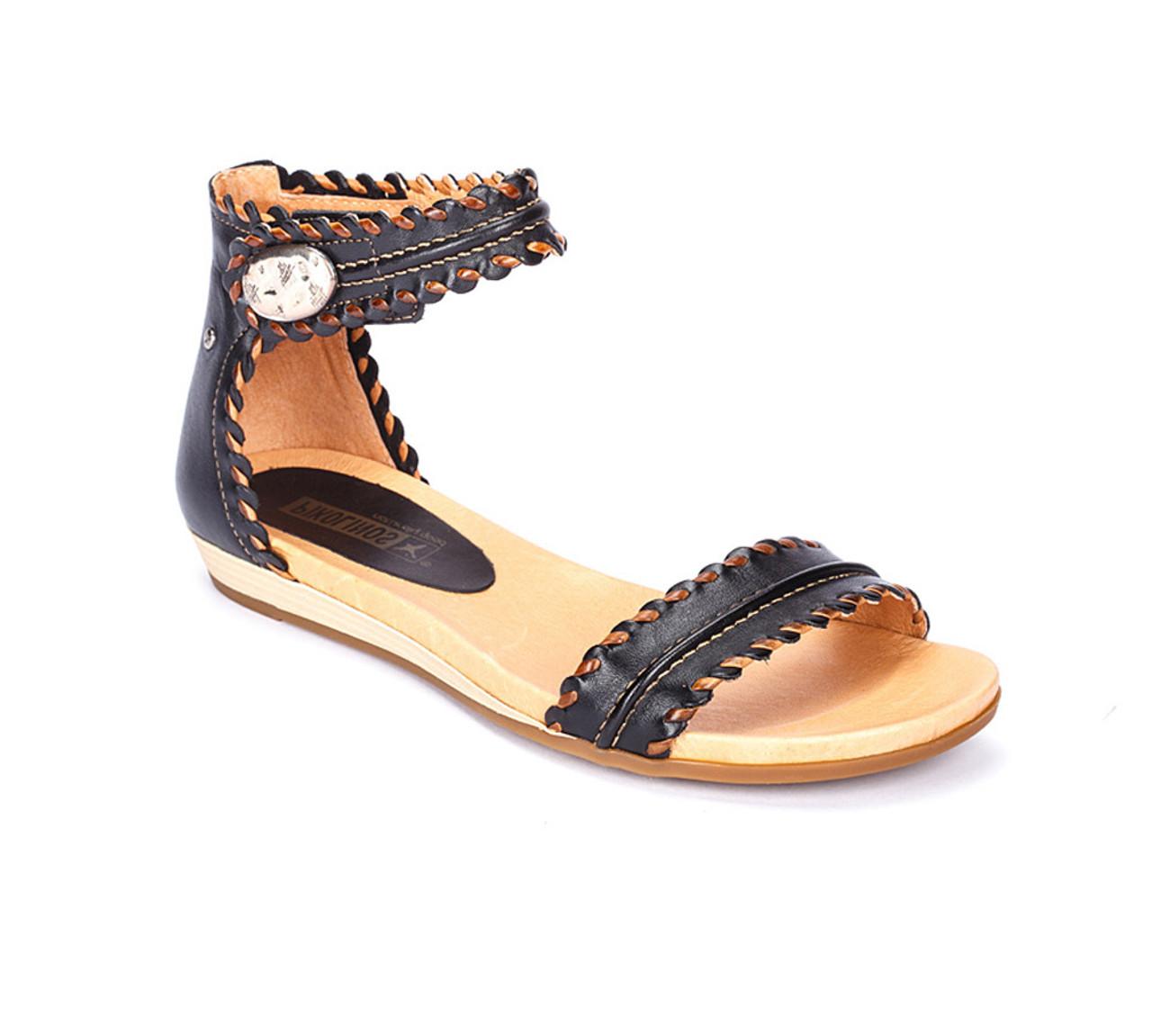 db7aab904a4 Pikolinos Women s Alcudia 816-0657 Sandal Black - Shop now   Shoolu.com