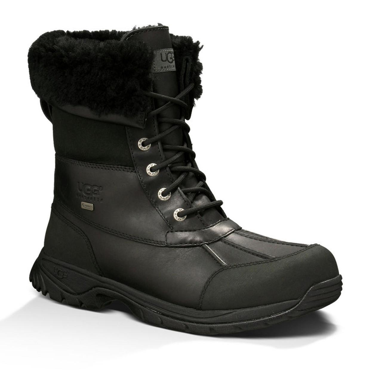 a5982b09313 UGG Men's Butte Waterproof Winter Boots Black