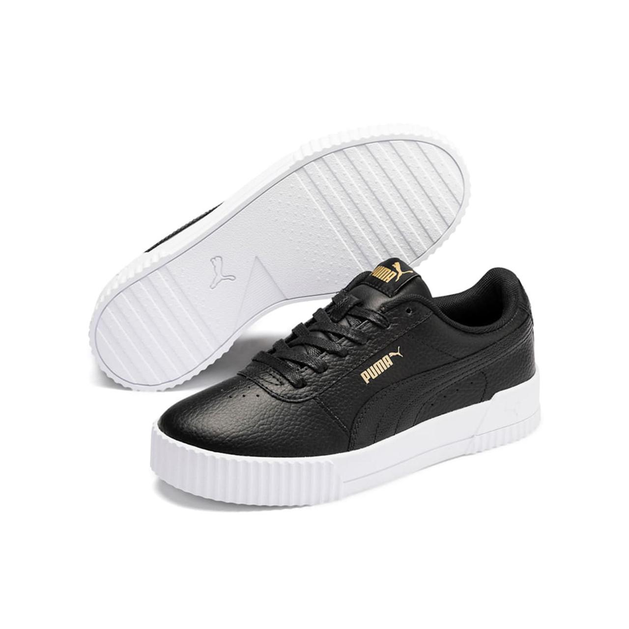 Puma Women's Carina Lux L Sneaker BlackBlack