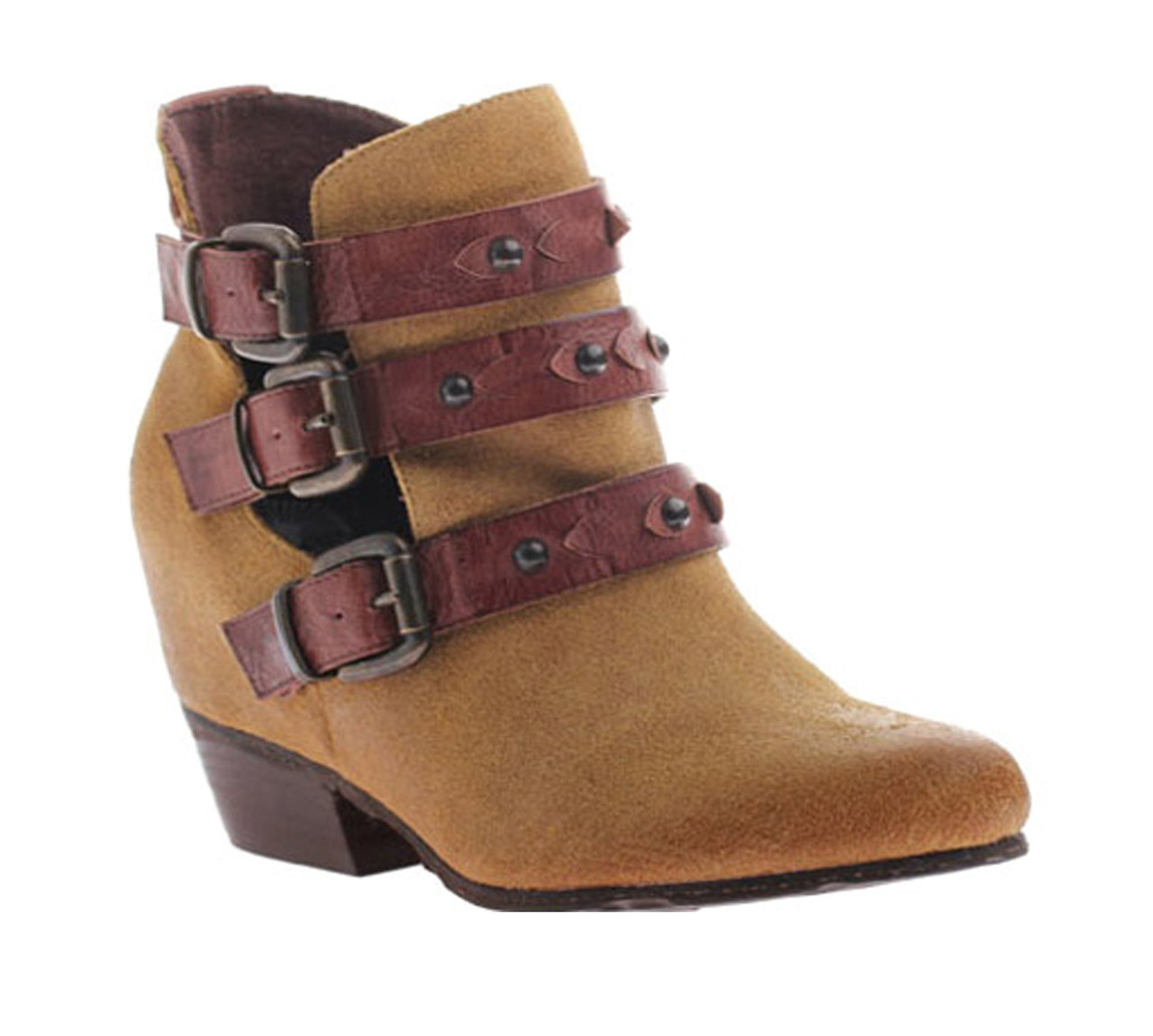 8e9f3f28b91 OTBT Women s Valley View Ankle Boot Honey - Shop now   Shoolu.com