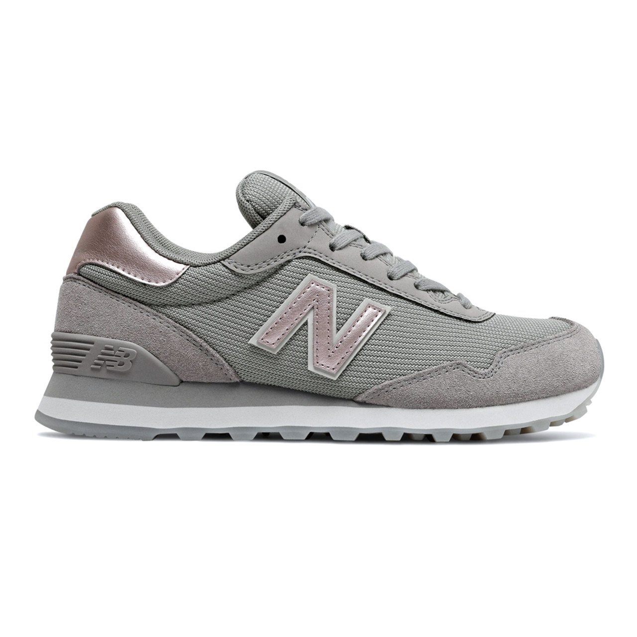 new balance grey with rose gold
