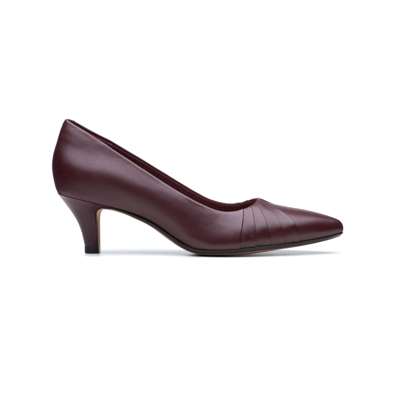 Clarks Women's Linvale Crown Pump - Red