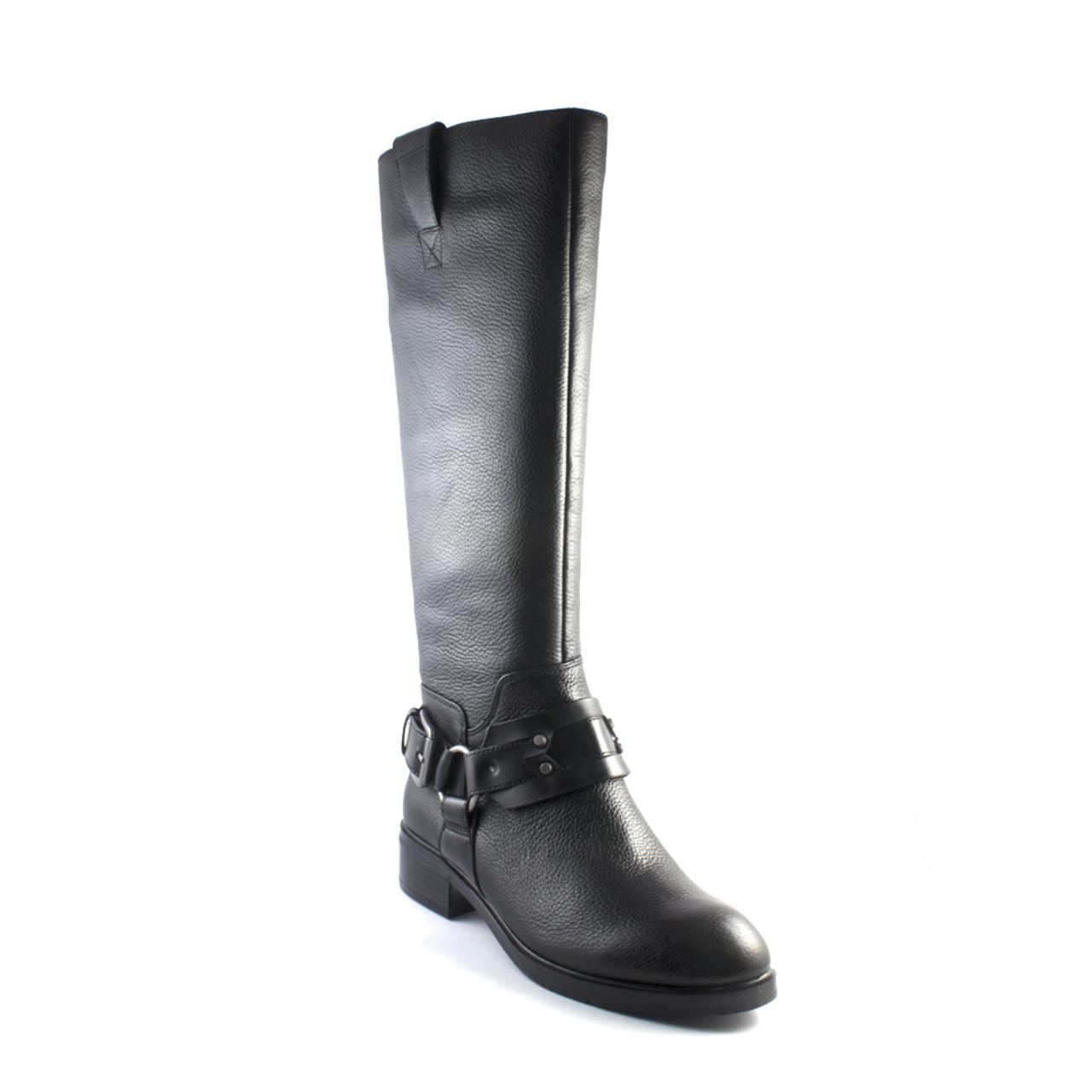67fcc2f3e5c Nine West Women's Jamison Knee-High Boot Black Leather
