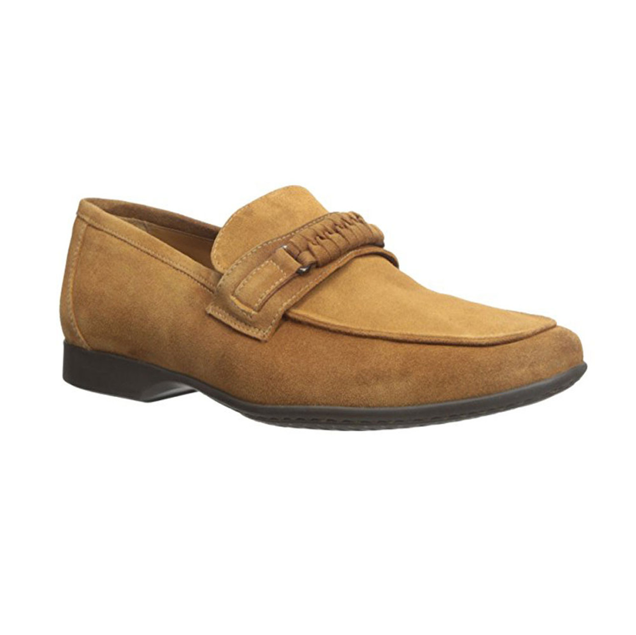 5eed78ed78f Bruno Magli Men s Lorenzo Loafer Whiskey - Shop now   Shoolu.com