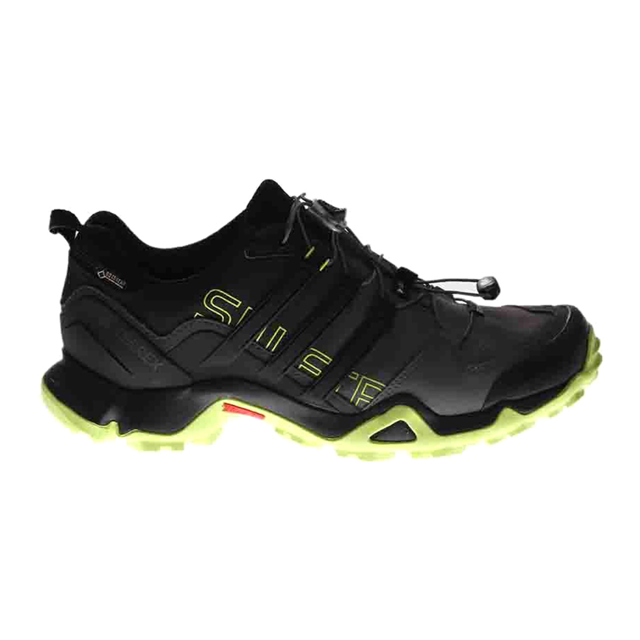 de6a0dcda7738 Adidas Men s Terrex Swift R GTX Hiking Shoe Black Semi Solar Yellow - Shop  now