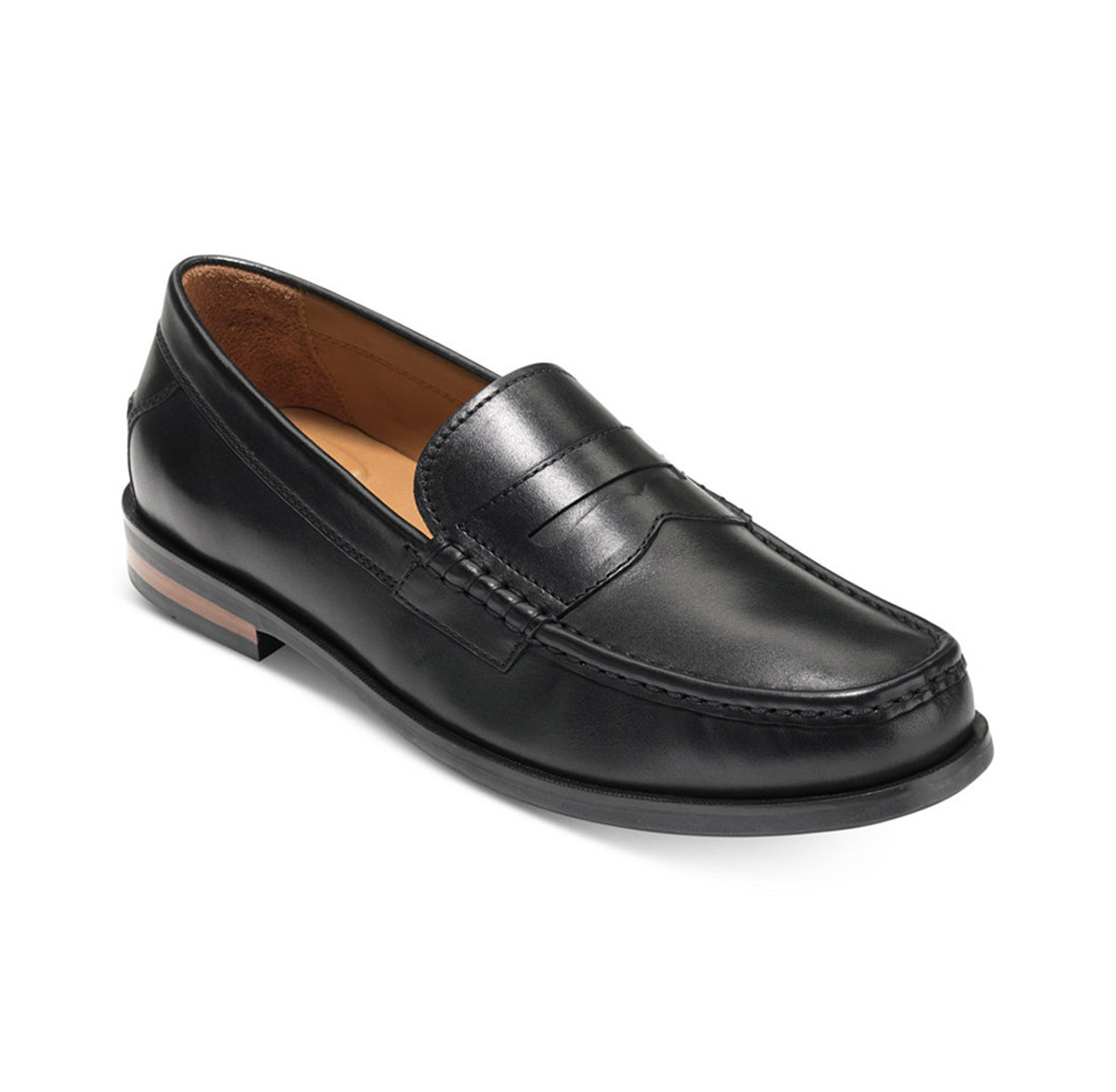 0ebb24c6314 Cole Haan Men s Pinch Friday Contemporary Penny Loafer Black Handstain -  Shop now   Shoolu.