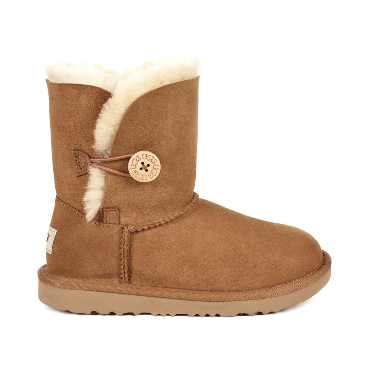 3de6a2c2e78 UGG Girls Kids Bailey Button II Boot Chestnut